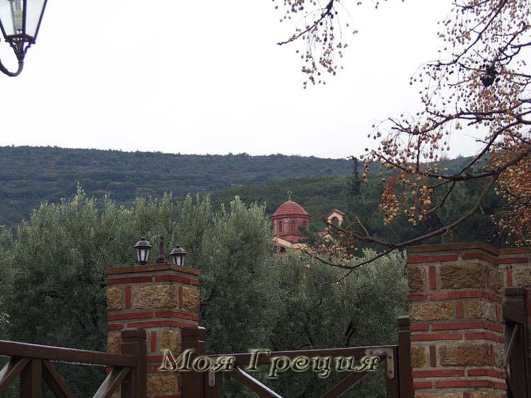 В монастыре Иоанна Богослова