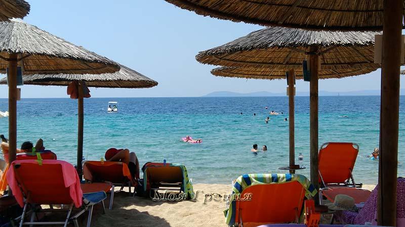 Отдых на пляже в Торони