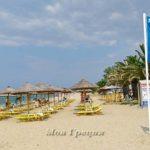 Голубые флаги 2016 на пляжах Халкидики
