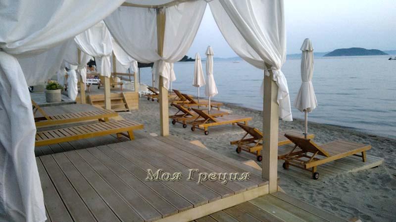 Пляж отеля Paradisos Holiday
