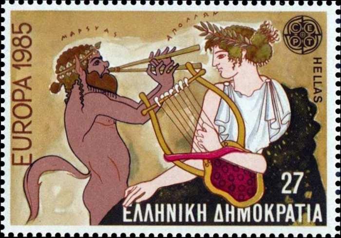 Аполлон и сатир Марсий