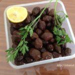 Вяленые оливки