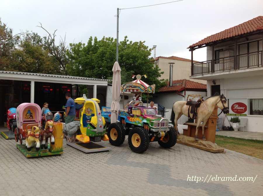 Детская площадка в Сивири