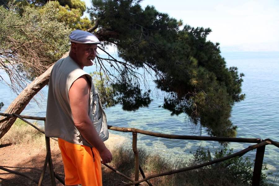 Олег Белкин, путешествие в Грецию