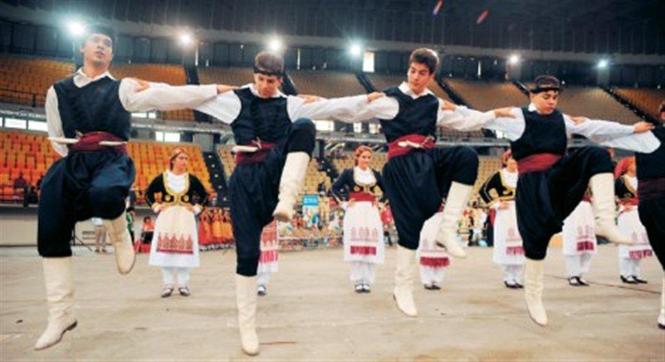 Греческий танец пентозали