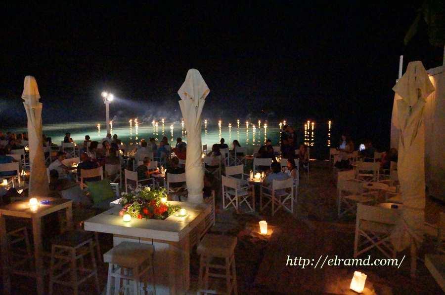 Ресторан на пляже