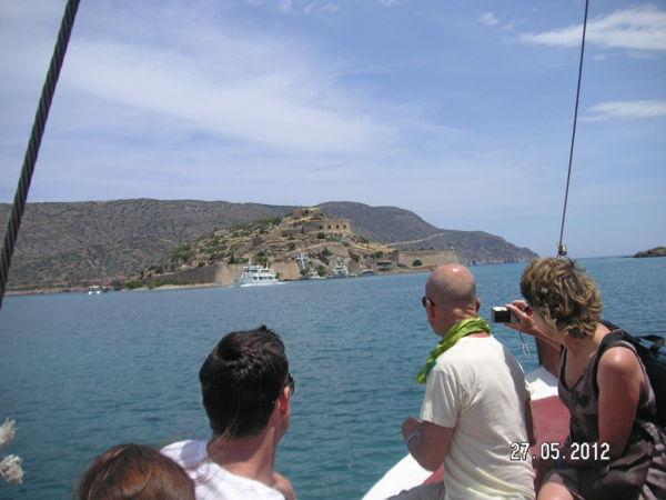 Подплываем к острову