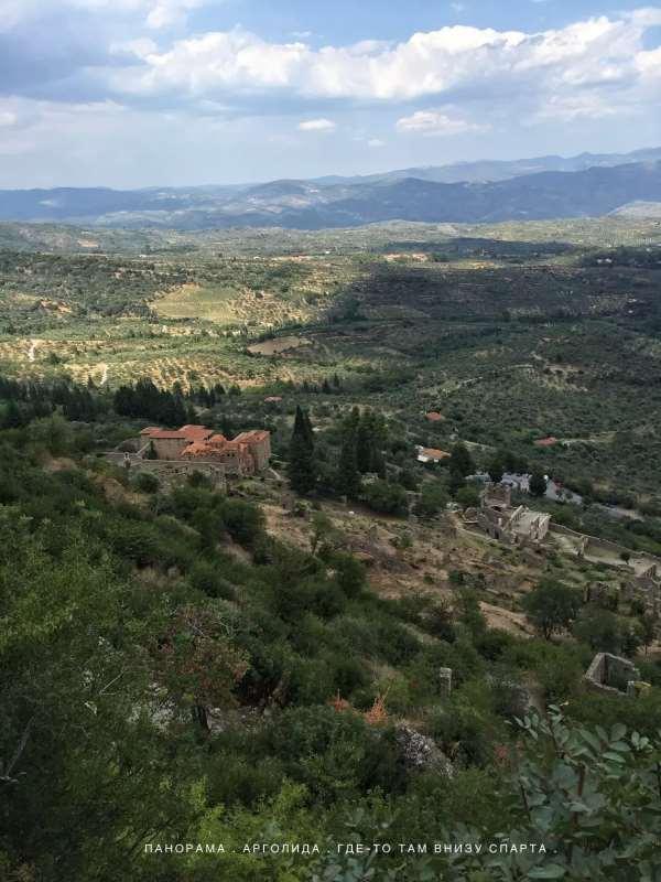 Пелопоннес, равнина Арголиды