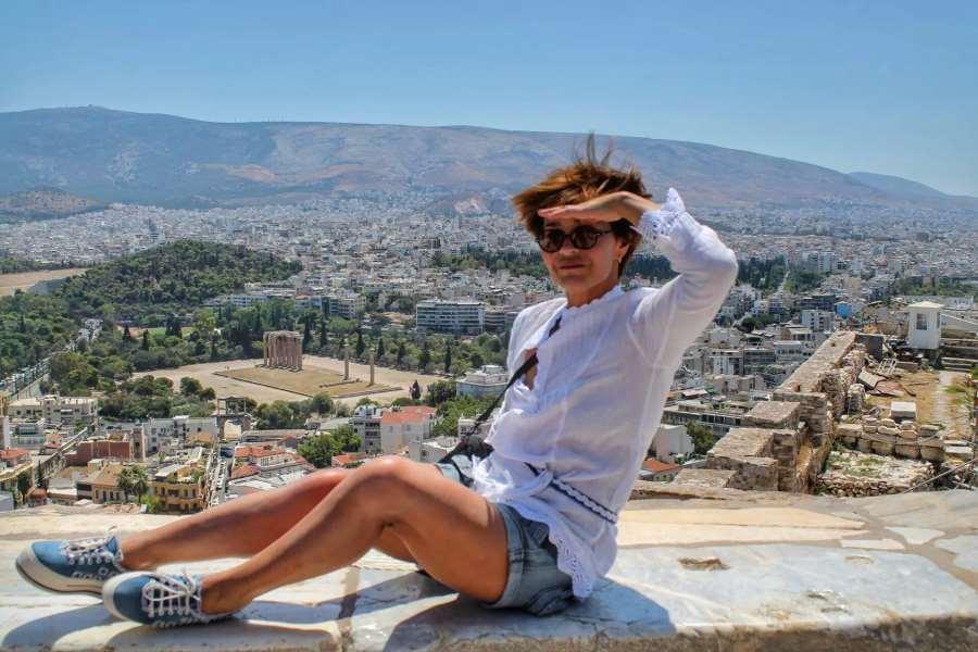 Виктория Лихачева в Греции