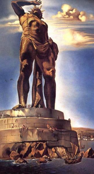 •Колосс – так представлял себе Колосса Сальвадор Дали