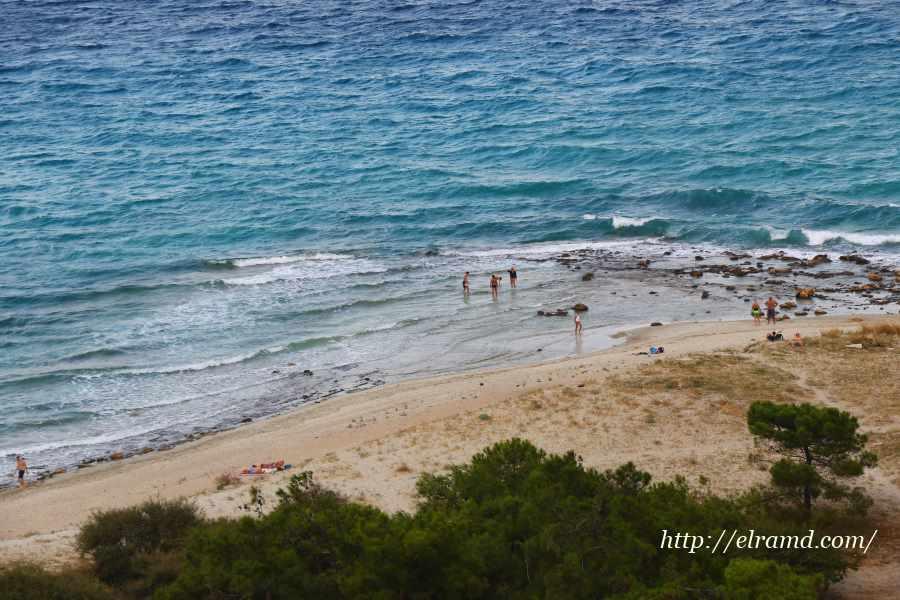 Море у берегов Афитоса