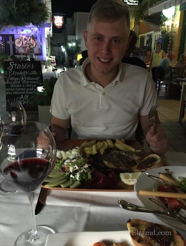 Вкусная греческая еда