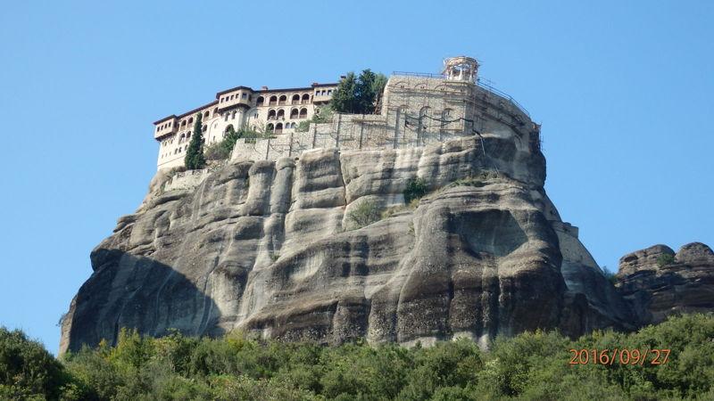 Вид на монастырь Св. Варвары (Русано)