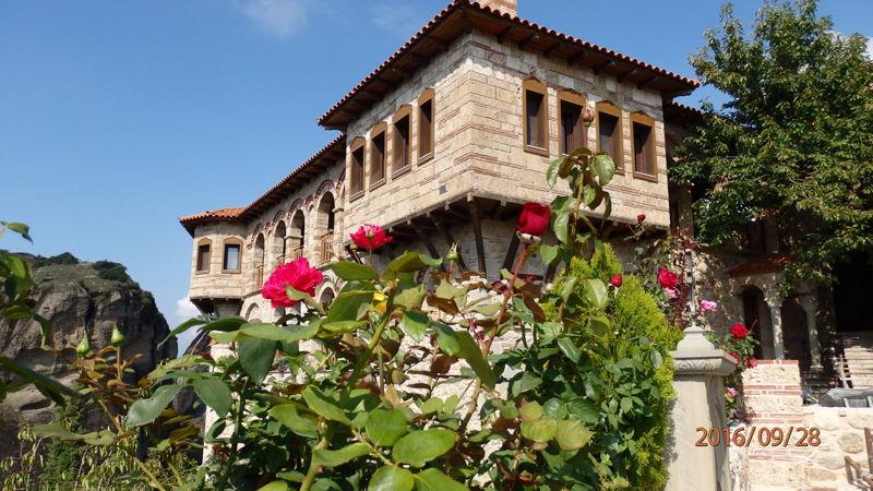 В монастыре Св. Варлаама