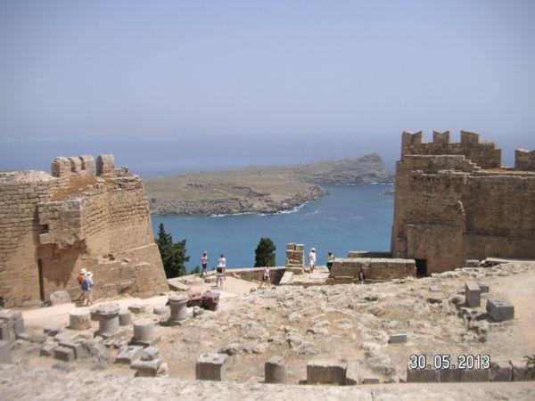 Вид от стен Акрополя