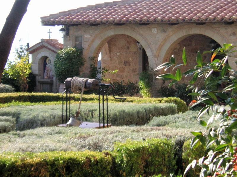 В монастыре Св. Стефана