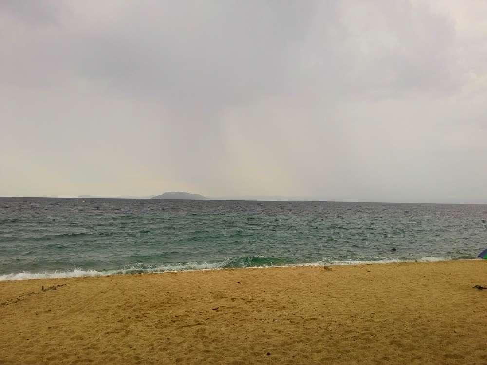 На пляже Лагомандра