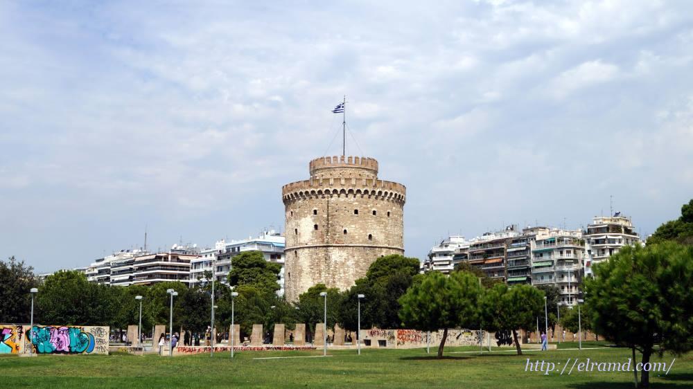 Белая Башня - символ Салоник