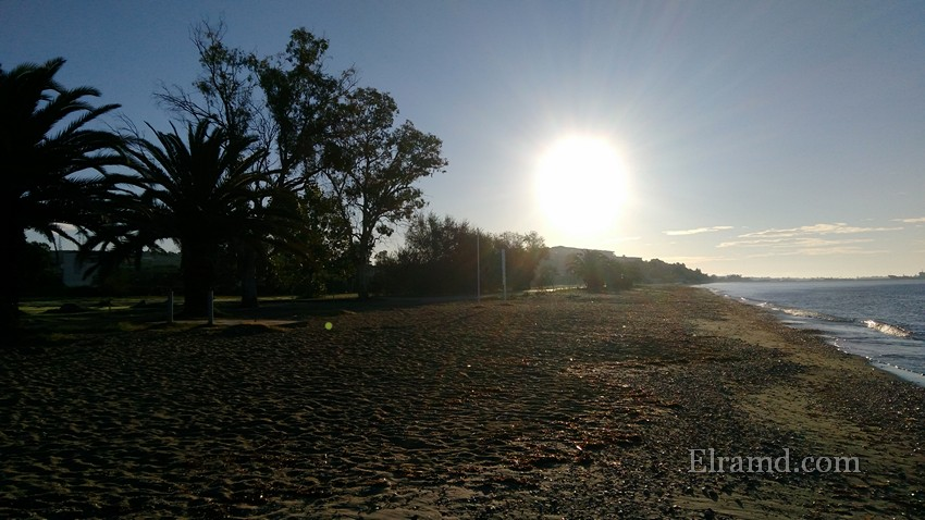 Утро на пляже Портарьи