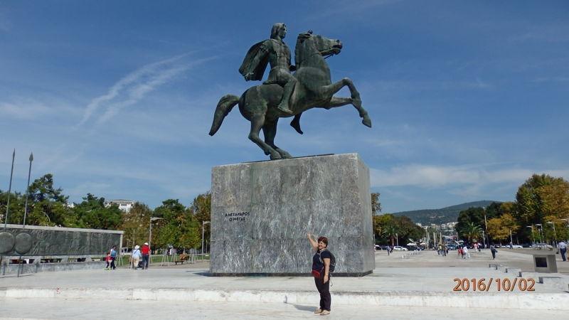 Памятник Александру Великому, Салоники