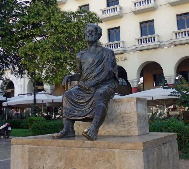 Аристотель - ученик Платона