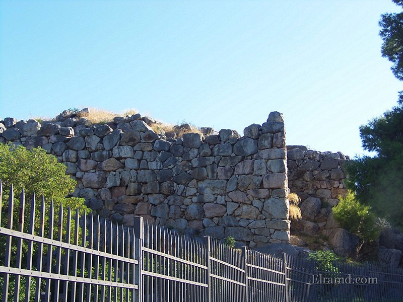 Циклопические стены Тиринфа