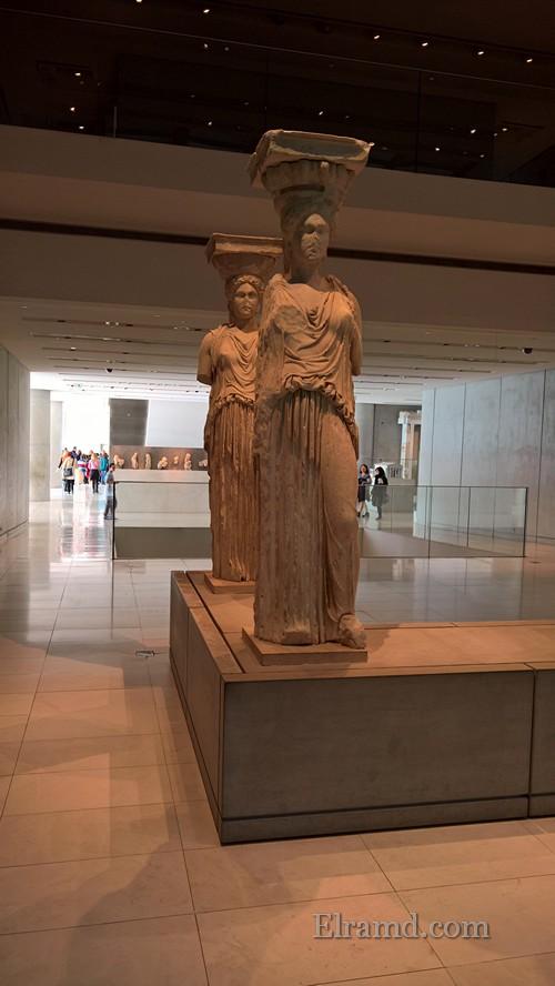В музее Акрополя