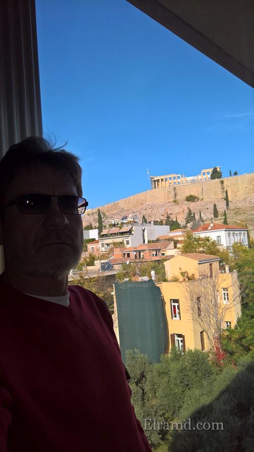 Виды на Акрополь из музея