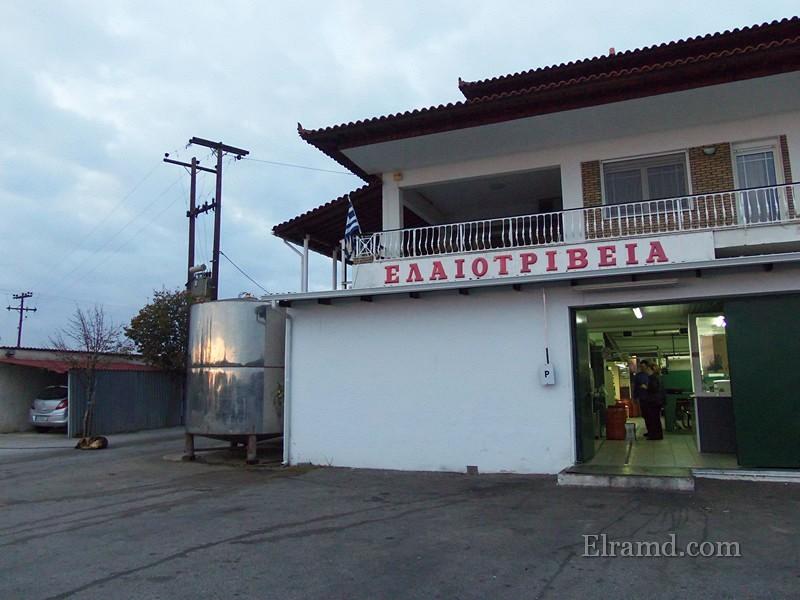Элеотривио - греческая маслобойня, Халкидики