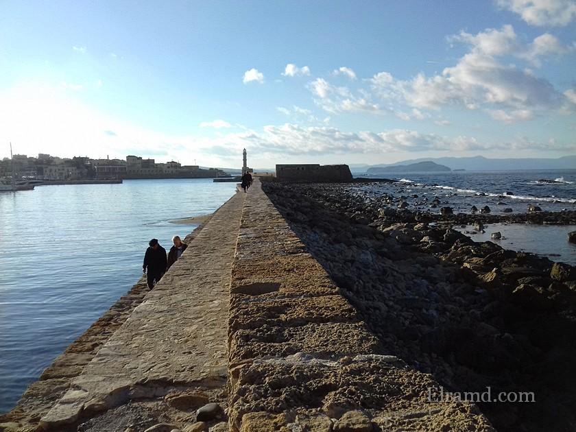 Ханья, Критское море