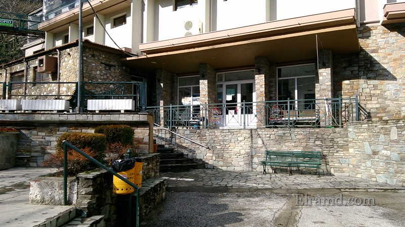 Вход в бассейны хамам