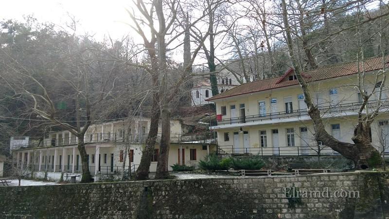 Здания старого санатория