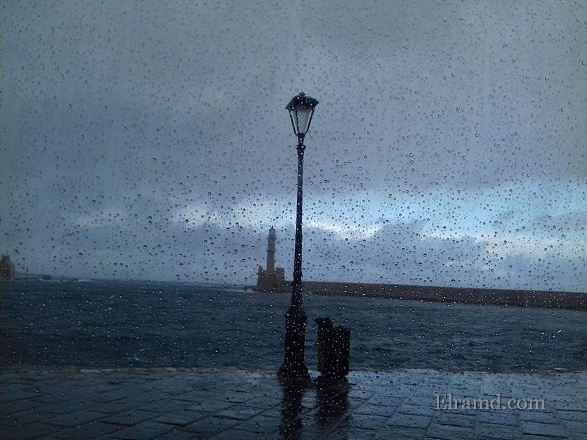 Дождь в Ханья