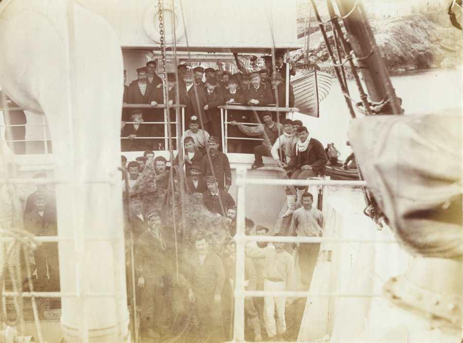 Ныряльщики за губками, 1900 год