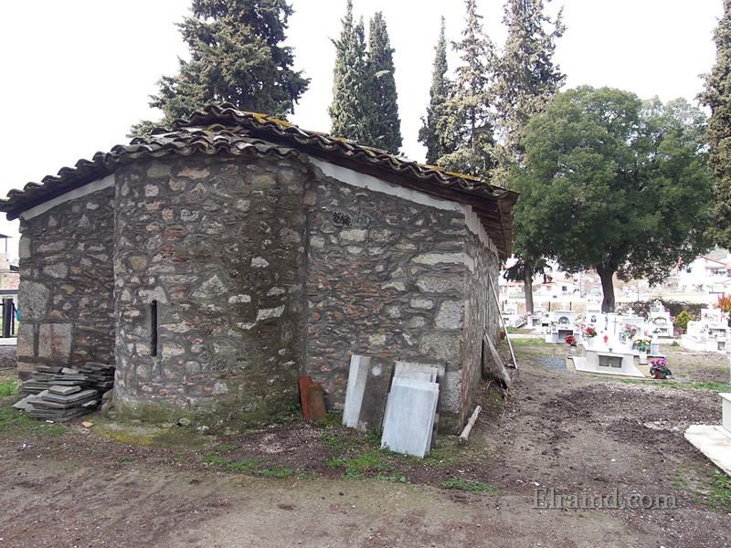Храм Св. Афанасия, вид сзади