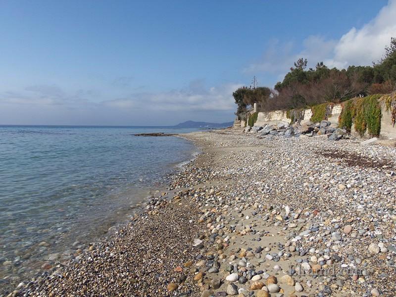 Пляж в местечке Агиос Иоаннис