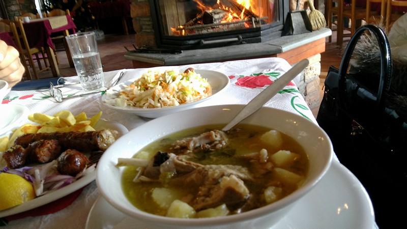 Гида врасти - суп с мясом козы