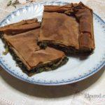 Хортопита: постный греческий пирог с травами