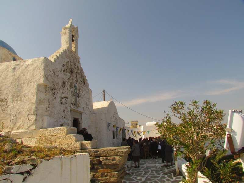 Храм Св. Константина, Парос