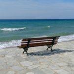 Неа Плагия в апреле: пляжи и лиман