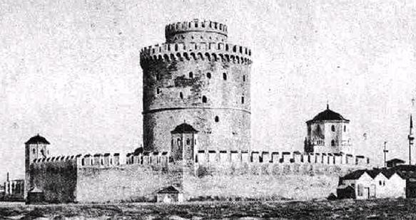 Белая Башня в 1912