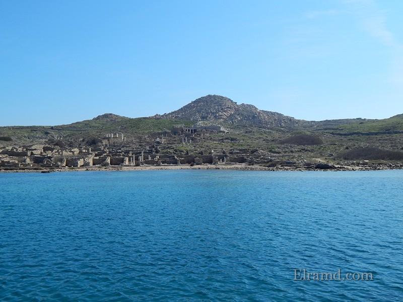 Древний торговый порт, Делос