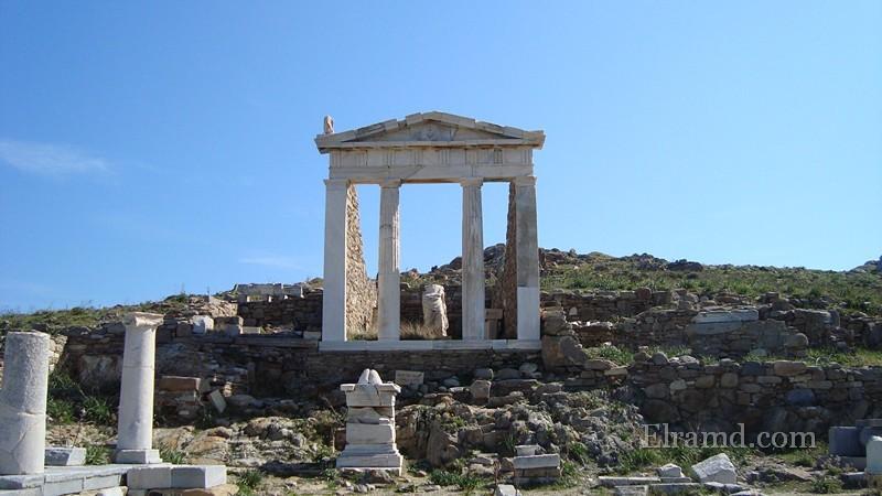 Руины храма Изиды