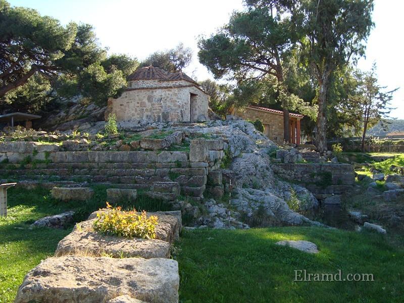 Храм Св. Георгия, Враврона
