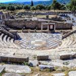 Древний город Мессини, хранимый богами