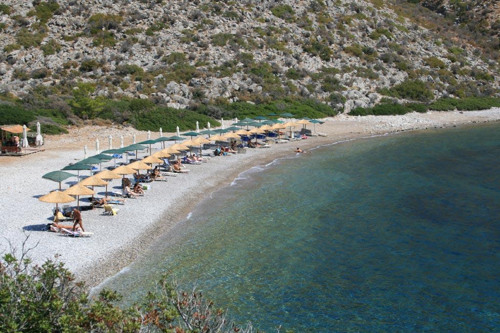 Пляж Паламидас, Идра