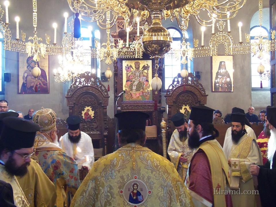 Праздник Святого Стефана служба