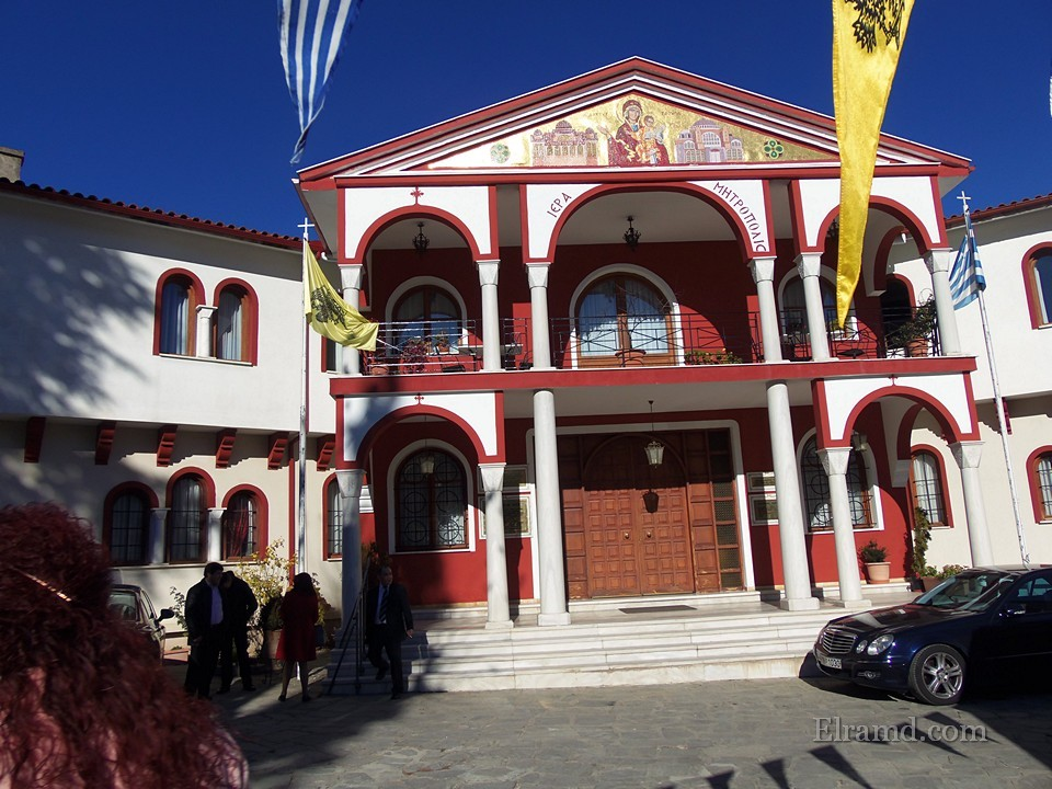 Здание Митрополии в Арнеа