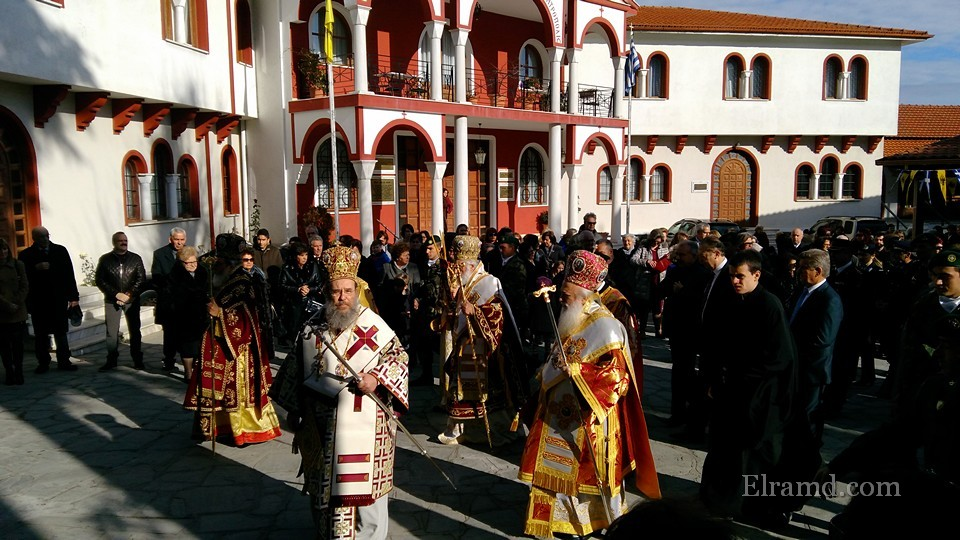Начало крестного хода Св. Стефана
