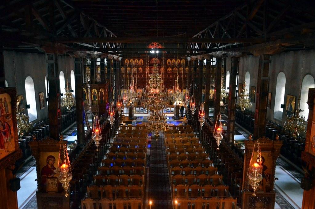Вид центральной части храма Св. Стефана